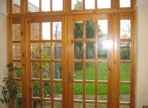 Wooden Byfold Doors2